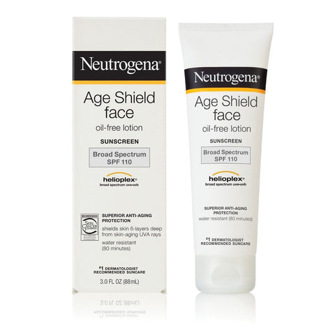 Neutrogena Age Shield Face Lotion Sunscreen Broad Spectrum SPF 110, 3oz