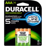 4/pack Duracell AAA Rechargeable Batteries AAA4 1.2V NiMH EXP 2021 (4x1) DX2400