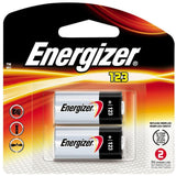 (4) CR123A Lithium Energizer Batteries EXP 2026 1500mAh 3V Photo (2/Pack x2 =4)