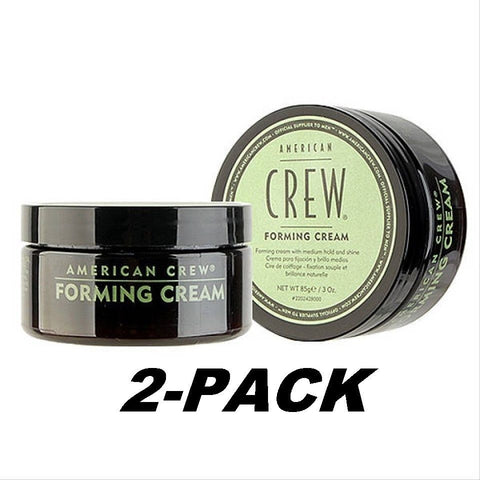 2pk AMERICAN CREW FORMING CREAM 3oz 85g Men pomade wax paste