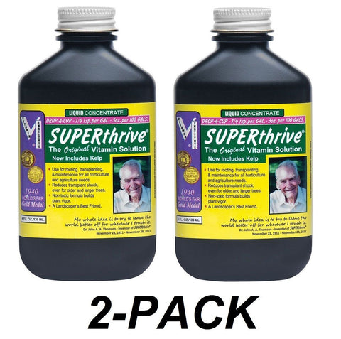 2-PACK Superthrive 4 ounces- 4oz oz B Vitamins Plant Food Hormones super thrive