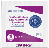 BZK Antiseptic Moist Towelettes (100 Count)