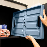 Clevermade 62L Collapsible Bin 3 Pack