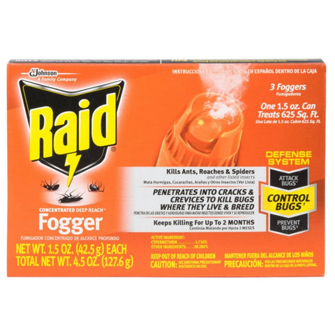 Raid Fogger 3 and 4 Pack with wipes IMAGE HOSTING