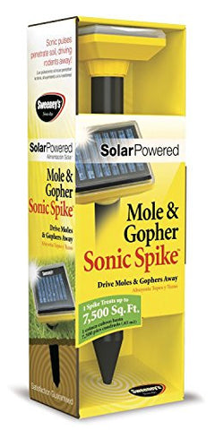 Solar-Powered Sonic Spikes (2 Pack)