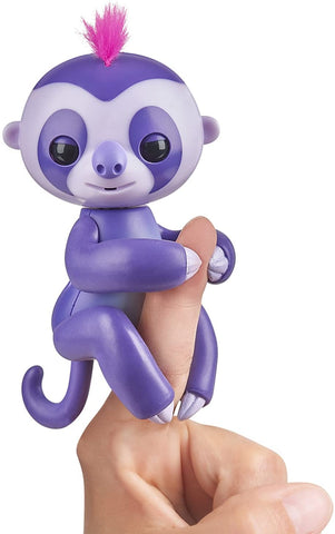 Fingerlings Baby Sloth - Marge (Purple)