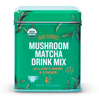 Four Sigmatic - Organic Mushroom Matcha with Lion's Mane and Ginger - 60g