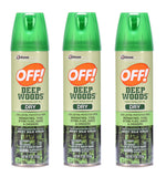 OFF! Deep Woods Insect Repellent Dry 4 Ounces (3-Pack)