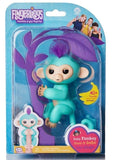 Fingerlings Baby Monkey - Zoe - Turquoise