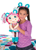 Flip Zee Girls Zoey w/ Exclusive Flipatote, Sweet and Cuddly 2-in-1 Plus Doll with Carry Bag