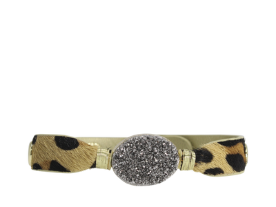Erimish - Druzy Leopard Cuff - Choose Color
