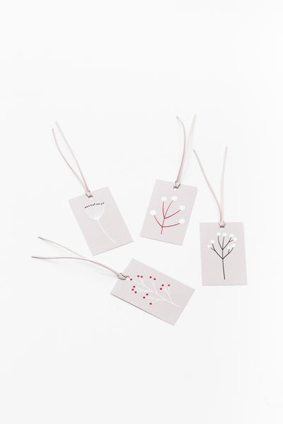 Present name tags for the most beautiful gifts