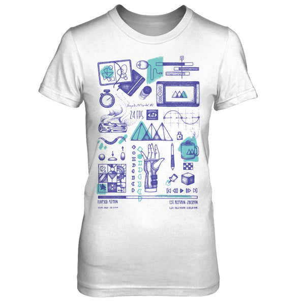 Bee Grandinetti Original Motion Design Tee - Women's