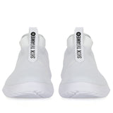 Sock Knit Shoes Low White