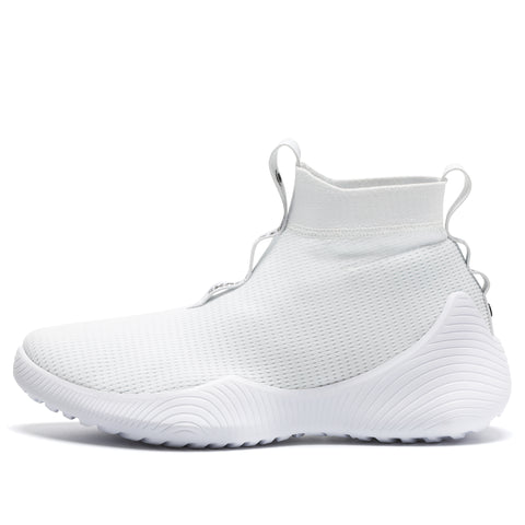 Sock Knit Shoes High White
