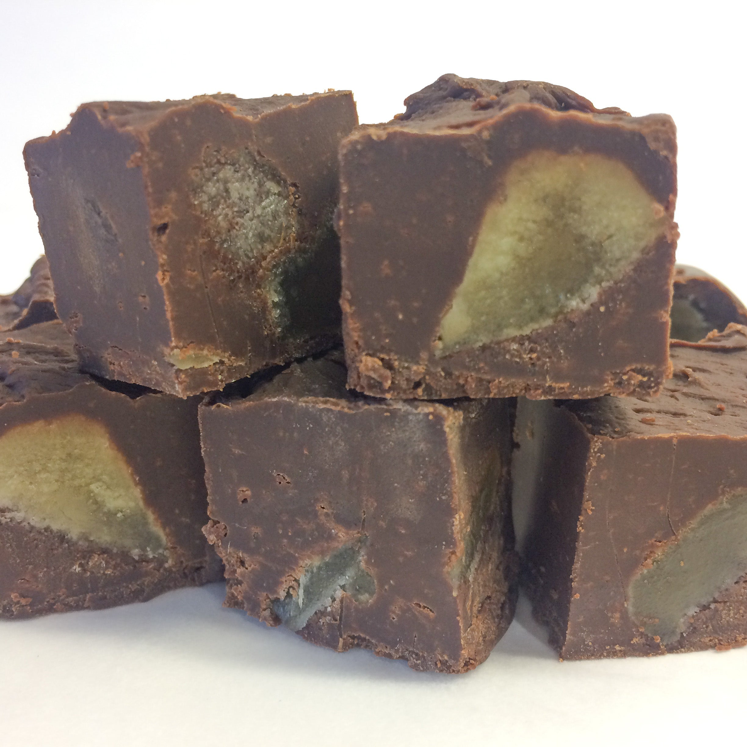 Crystallised Ginger Fudge