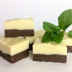Peppermint Layer Fudge