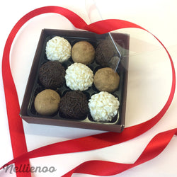 Valentine's fudge selection box