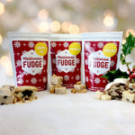 Mince Pie, Gingerbread and Stollen Fudge