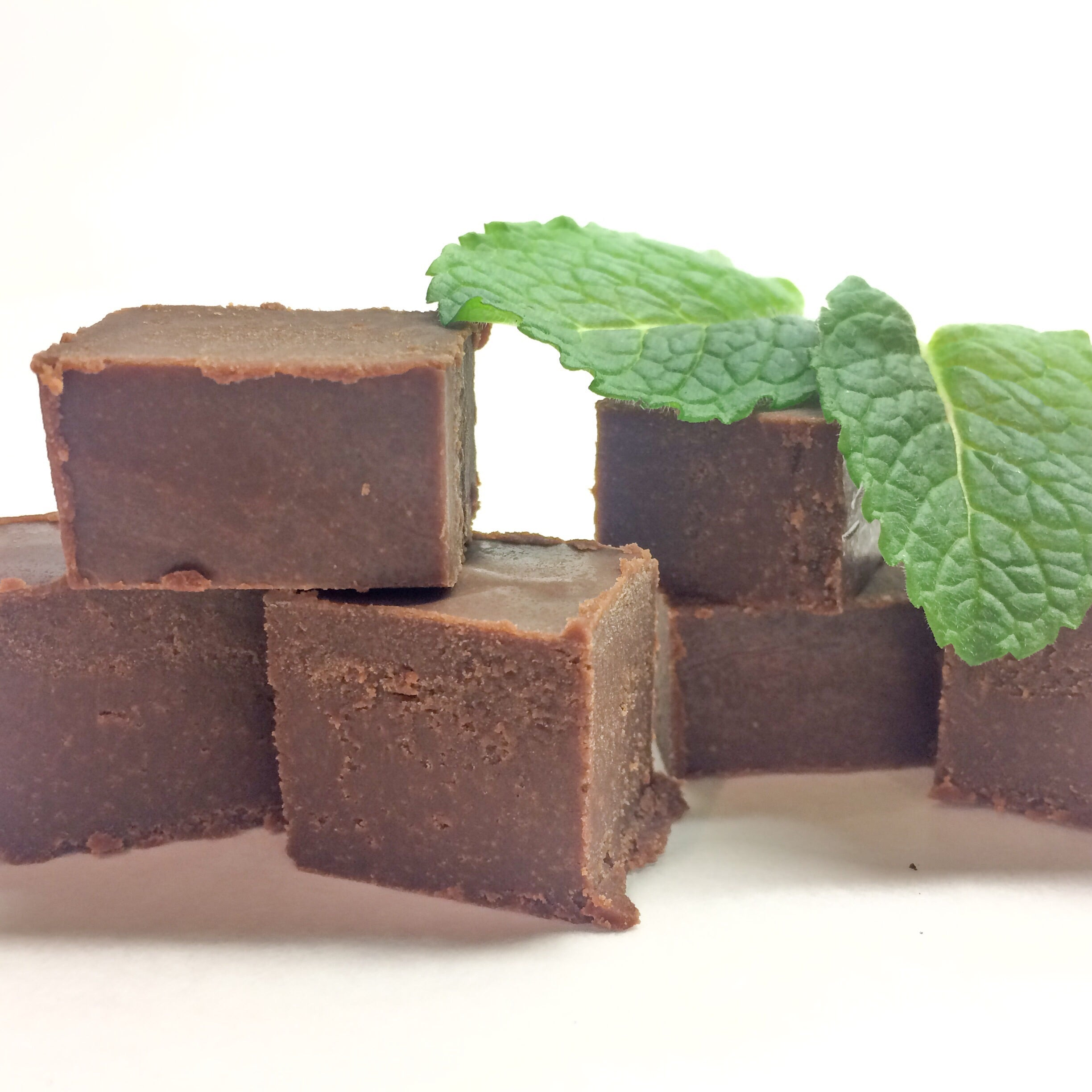 Vegan Mint Chocolate Fudge