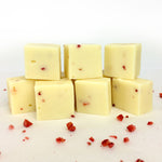 Strawberry & Prosecco Fudge