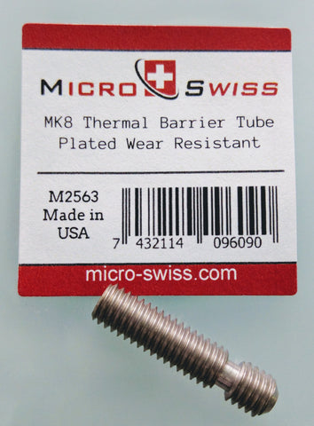 Micro Swiss High Temp Extruder Throat