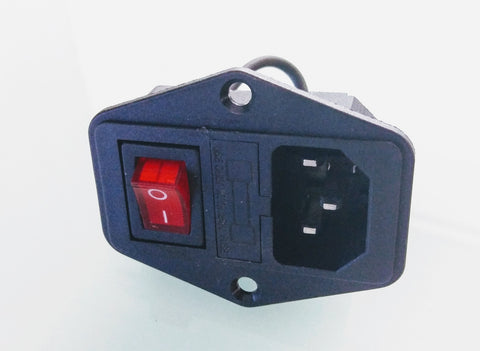 Power Plug and Switch