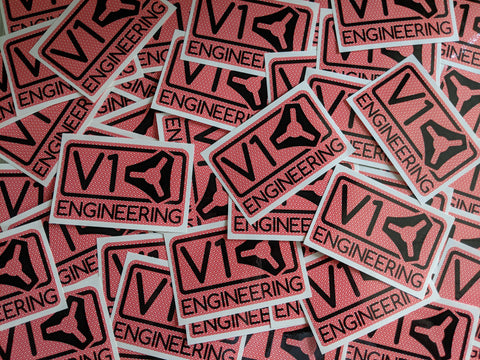 V1 Engineering Sticker