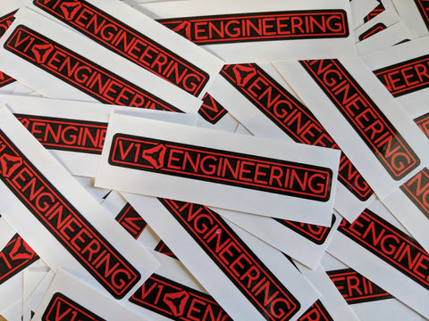 V1 Engineering Sticker - Long