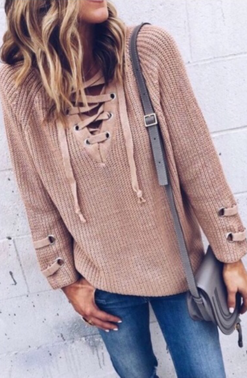 All Tied Up Sweater