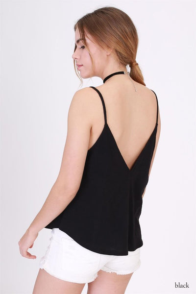Basic V Neck Back