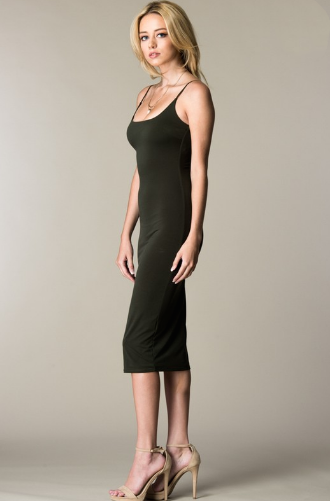 Camille Midi Dress Side