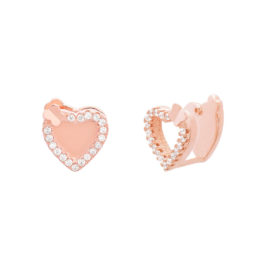 Heart Cuff Earrings
