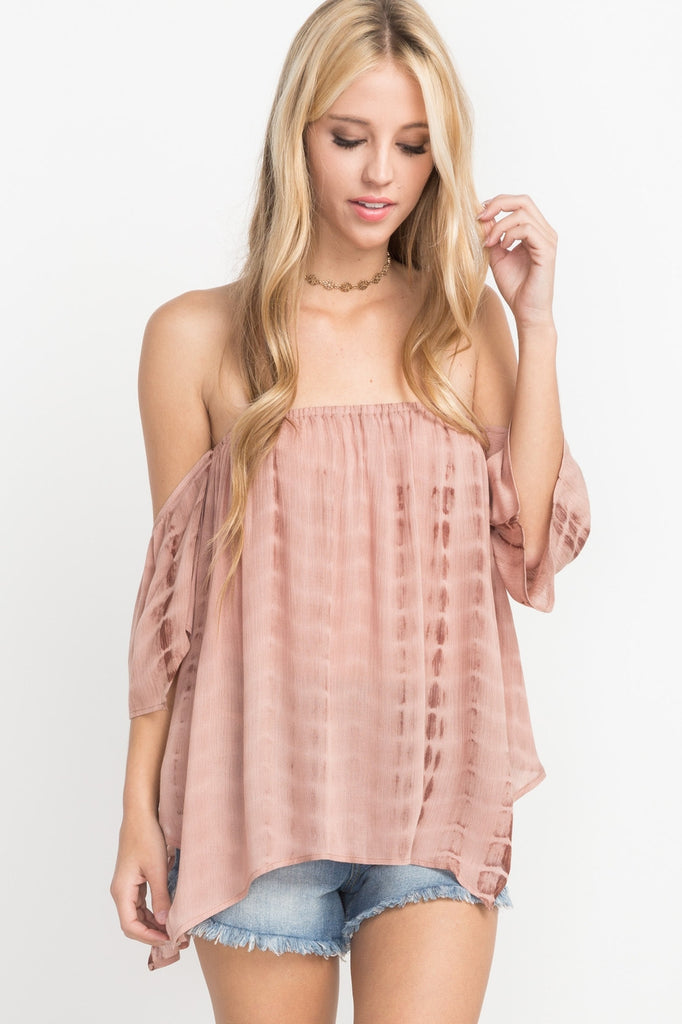 Endless Spring Off Shoulder Top