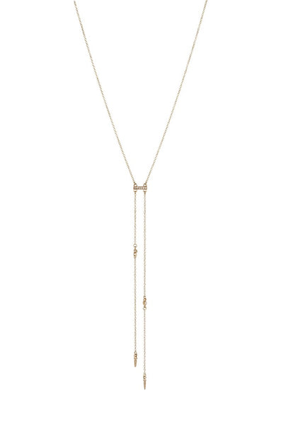 Ettika Cutting Edge Necklace