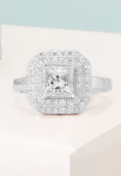 Eva Engagement Style Ring