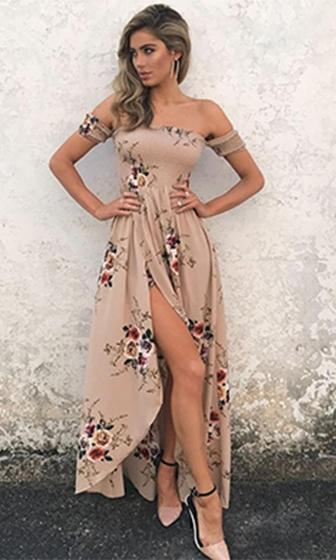 Beautiful Daydreams Floral Dress