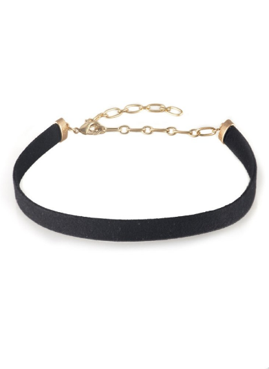 Gigi black wrap choker