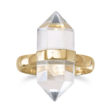 Happiness Quartz ring