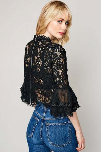 Love Story Lace Top