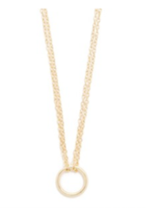 Shashi Open Circle Necklace