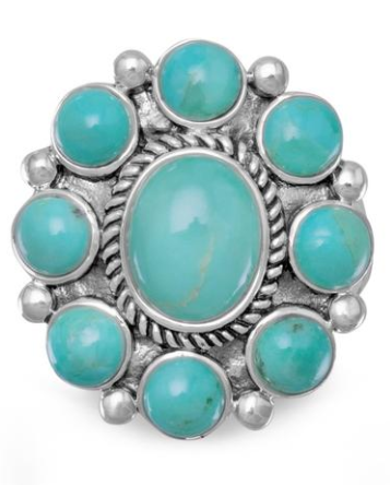 The weekend turquoise ring