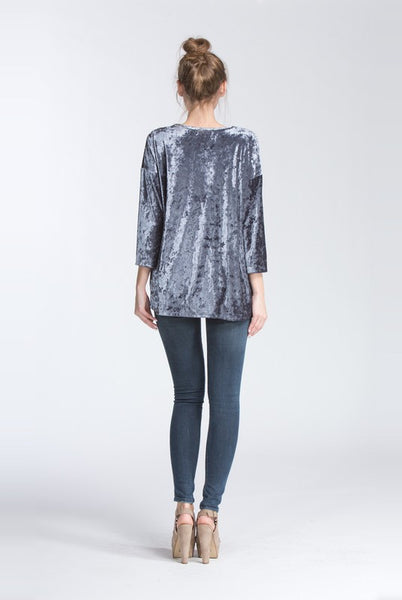 Romantic Skies Velvet Top