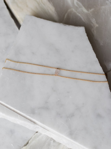Rose Quartz Double Choker