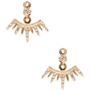 Shashi Arushi Jacket earrings