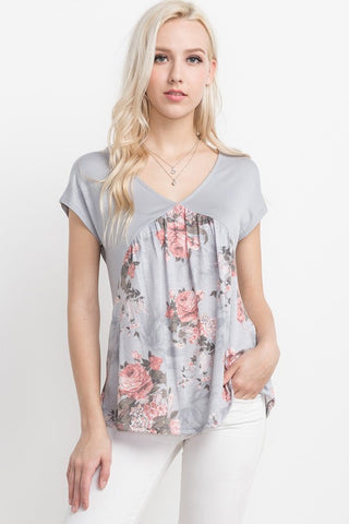 Mittoshop True Innocence Floral Top