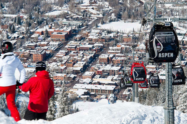 Hoc skiing in Colorado! Collatio statio tuae maxime