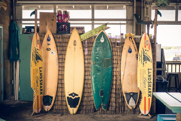 Ideas to repair and reuse your old surfboards!