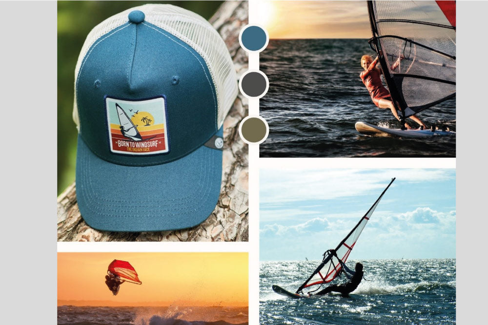 Born to Windsurf - Hats- The Indian Face