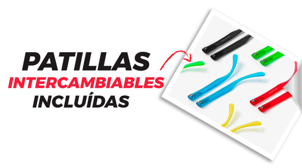 Patillas Intercambiables